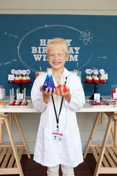 Mad Scientist Birthday Party Theme Boy Science Kids