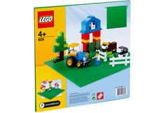 LEGO Bricks & More Green Building Plate x 32 stud) in Storage & Accessories.