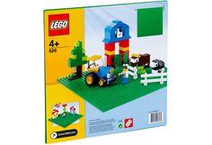 LEGO® Vihreä rakennuslevy (32x32 nuppia). EI DUBLOille tarkoitettua!!