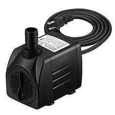 Boxtech Aquarium Submersible Water Pump Ultra Quiet Mini Small Fountain Pump F Pumps (water)