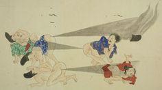 Bataille de pets dans le Japon des samourais
