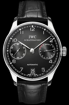 IWC Portugieser Automatic 7 Day Stainless steel case