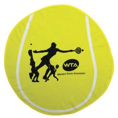Fiber Reactive Tennis Ball Shaped Towel
