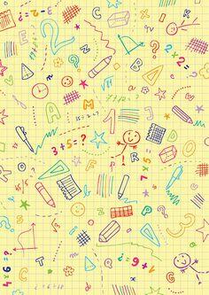 Grid paper scrapbook paper