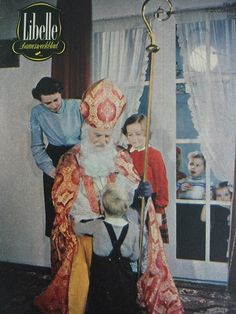 Libelle 1952 (Sinterklaas cover)