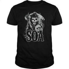 Sons Of Anarchy Smoky Reaper - custom made shirts #customized hoodies #girl hoodies