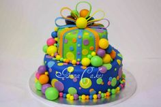 Torta s farebnymi gulickami, Inšpirácie na originálne Ostané torty pre deti Cake Decorating, Birthday Cakes, Desserts, Decoration, Food, Tailgate Desserts, Decor, Deserts, Essen