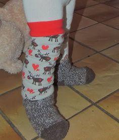 Tutorial für Babylegs & Stulpen mit Fleecefutter, Beinstulpen, Baby Leg Warmer nähen