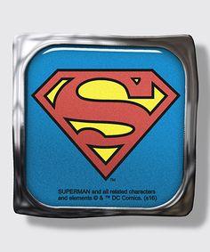 Superman Logo Visor Clip
