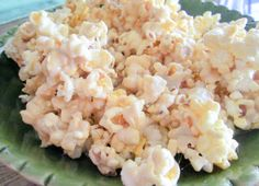 Quick Caramel Popcorn To Die For - My Life Unpinned (wondering if you could sun coconut oil, coconut sugar and all-natural marshmallows)