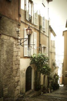 Walk Through Villefranche -sur-mer, France