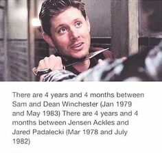 it's supernatural Winchester Boys, Winchester Brothers, Supernatural Tv Show, Supernatural Quotes, Sherlock Quotes, Sherlock John, Sherlock Holmes, Medici Masters Of Florence, Jared And Jensen