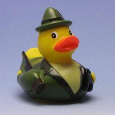 Duckshop - der Shop für Badeente und Quietscheentchen - Badeente Jäger