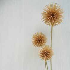 Flowers I made from toothpicks art, decor, flower