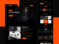 Inkyy is proud to present a new free Adobe XD Template.This time, it is a personal portfolio website most suitable for freelance developers. Web Developer Portfolio Website, Free Portfolio Website, Best Portfolio Websites, Online Portfolio Design, Portfolio Web Design, Portfolio Site, Website Developer, Template Portfolio, Cv Website