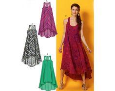 TENT DRESS Sewing Pattern  McCalls 6954  Soft Flowing by MangoLane #mangolane