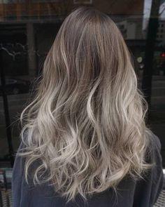 Resultado de imagen para ash blonde ombre hair
