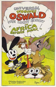 Early Walt Disney with M. Winkler