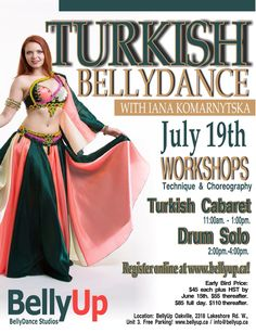 Two workshops with the Star BellyDancer of Canada Turkish style BellyDance is different from Egyptian. Expand your repertoire and find out how to change your style! Turkish Style, Turkish Fashion, Drum Solo, Cabaret, Egyptian, Workshop, Canada, Change, Shit Happens