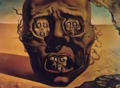 El rostro de la guerra de Dalí es un Primerísimo Primer Plano
