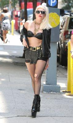 Lady Gaga celebrity style
