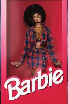 black girl magic melanin barbie on We Heart It Black Girl Art, Black Girl Fashion, Black Girl Magic, Black Girls, Fashion Edgy, Fashion 2018, Fashion Fashion, Spring Fashion, Fashion Women