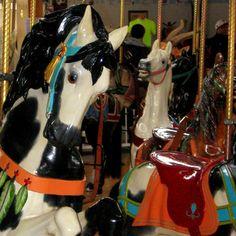 dentzel carousel horses