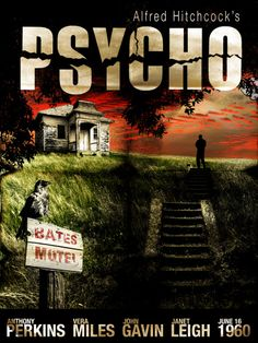 Psycho movie poster, this  movie is sooo good!