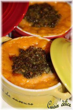 Gratin de butternut au pesto et au parmesan, Recette de Gratin de butternut au pesto et au parmesan par Claryss - Food Reporter