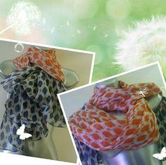 """Multi color blue/orange 100% cotton. New 74x41"""" 100% cotton scarf Accessories Scarves & Wraps"""
