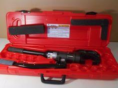 Burndy Y75OHS 12 Ton Hand Operated Hydraulic Crimper In Case Used Lynnwood WA…