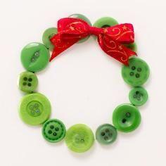 DIY Tutorial: DIY Button Craft / DIY Christmas Card - Bead&Cord