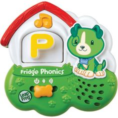 LeapFrog Fridge Phonics Magnetic Alphabet - Use this with both my grandchildren and they love it.  My older grandson graduated from the sounds to a little game where I spell words with the letters and try to stump him.  He was reading at age four.