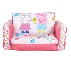 Peppa Pig - Flip Out Sofa for kids from Worlds Apart - creators of children's lifestyle products that give kids and parents more wow factor