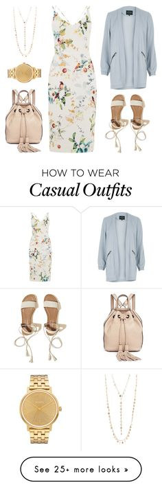 """Simple Casual #10"" by miserylovescompany on Polyvore featuring River Island, Hollister Co., Rebecca Minkoff, Nixon and Natasha"
