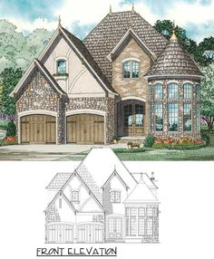 Attractive Stone and Glass Rotunda - 59913ND 2,889 square feet