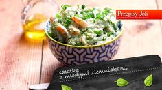 SAŁATKA Z MŁODYMI ZIEMNIAKAMI - Przepisy Joli Guacamole, Potato Salad, Cabbage, Potatoes, Vegetables, Ethnic Recipes, Food, Meal, Potato