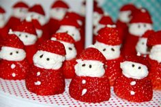 Add a still style to your strawberries. #holidaytreats