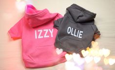 Personalized dog Hoodie American apparel (Made in USA).    Flex Fleece (50% Combed Cotton / 50% Polyester) construction  Zipper enclosure  Kangaroo