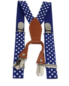 New. 1 wide elastic suspenders adjustable to fit boys 2 - 5 years old.