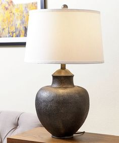 Brown Table Lamp - Set of Two