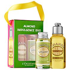 L'Occitane - Almond Indulgence Duo  #Sephora I LOVE the Almond Oil! So does my husband!