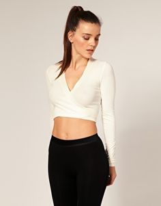 Repetto Ballet Wrap Cardigan / perfect for wearing over a tank top!