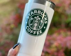 Personalized Starbucks glitter stainless steel tumbler. 20oz tumbler. Glitter cup. Coffee. Custom. Fall. Pumpkin spice. Bestseller. Cute Birthday Gift, Birthday Gifts For Boys, July Birthday, Birthday Ideas, Starbucks Birthday, Starbucks Christmas, Personalized Coffee Mugs, Personalized Tumblers, Personalized Gifts