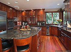 """My Dream Home .. """"Funny, How many Business transactions are completed in Kitchens around the Globe! .. ( Especially) """"KITCHENS"""" As """"BEAUTIFUL"""" As This One Is! ..."""