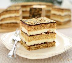 Stefanka Ukrainian Christmas, Polish Recipes, Polish Food, Tiramisu, Sweets, Cookies, Baking, Ethnic Recipes, Layer Cakes