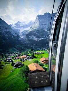 Grindelwald, Switzerland         One of my favorite destinations. It has the world's best Black Forest Cake !