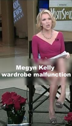 Megyn Kelly wardrobe malfunction that revealed her blurred lady parts was caught on camera. http://www.famousnakedcelebrities.com/naked-celebities-videos/megyn-kelly-wardrobe-malfunction-resulting-in-blurred-vag/