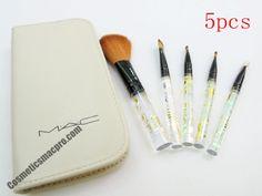 mac 5pcs makeup brush set cheap