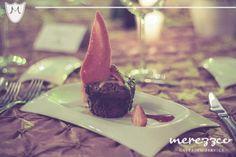 postre, merezzco, banquete, boda, pareja, postre chocolate.  www.merezzco.com
